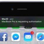 Touch ID Mac Kennwort Passwort Fingerabdruck  BB