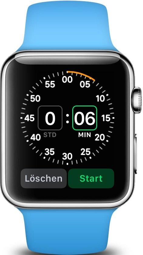 Apple Watch Timer stellen iPhone Eier kochen 2