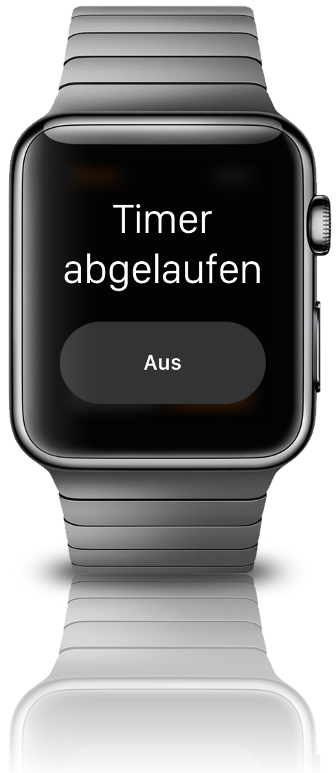 Apple Watch Timer stellen iPhone Eier kochen BB