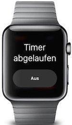 Apple Watch Timer stellen iPhone Eier kochen BB2