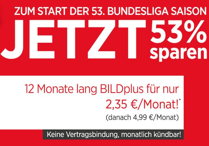 Bild Plus Bundesliga
