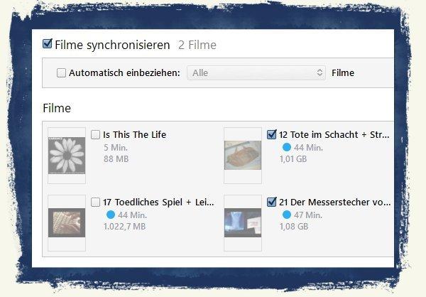 Video kopieren übertragen iPhone iPad PC Computer Windows Mac save.tv AVI MP4 H.264 H264 Videoformat 6a
