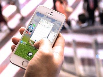iPhone Arbeitsspeicher Speicher App beenden schließen löschen Homebutton Doppeltipp doppelt tippen BB