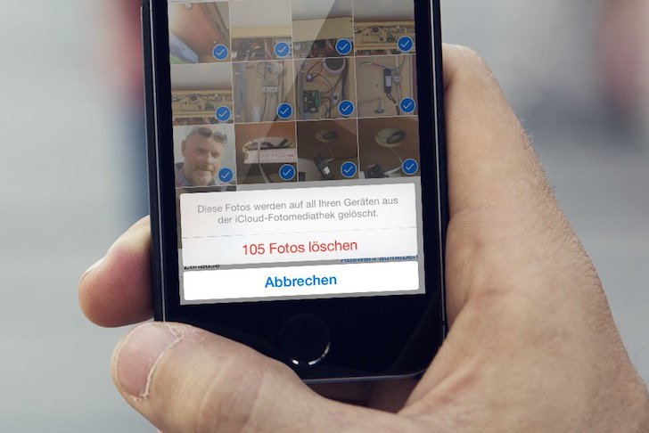 Iphone Fotos Loschen Alle Oder Eins