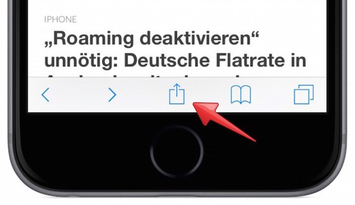iPhone Website als Icon am Homescreen anzeigen 2