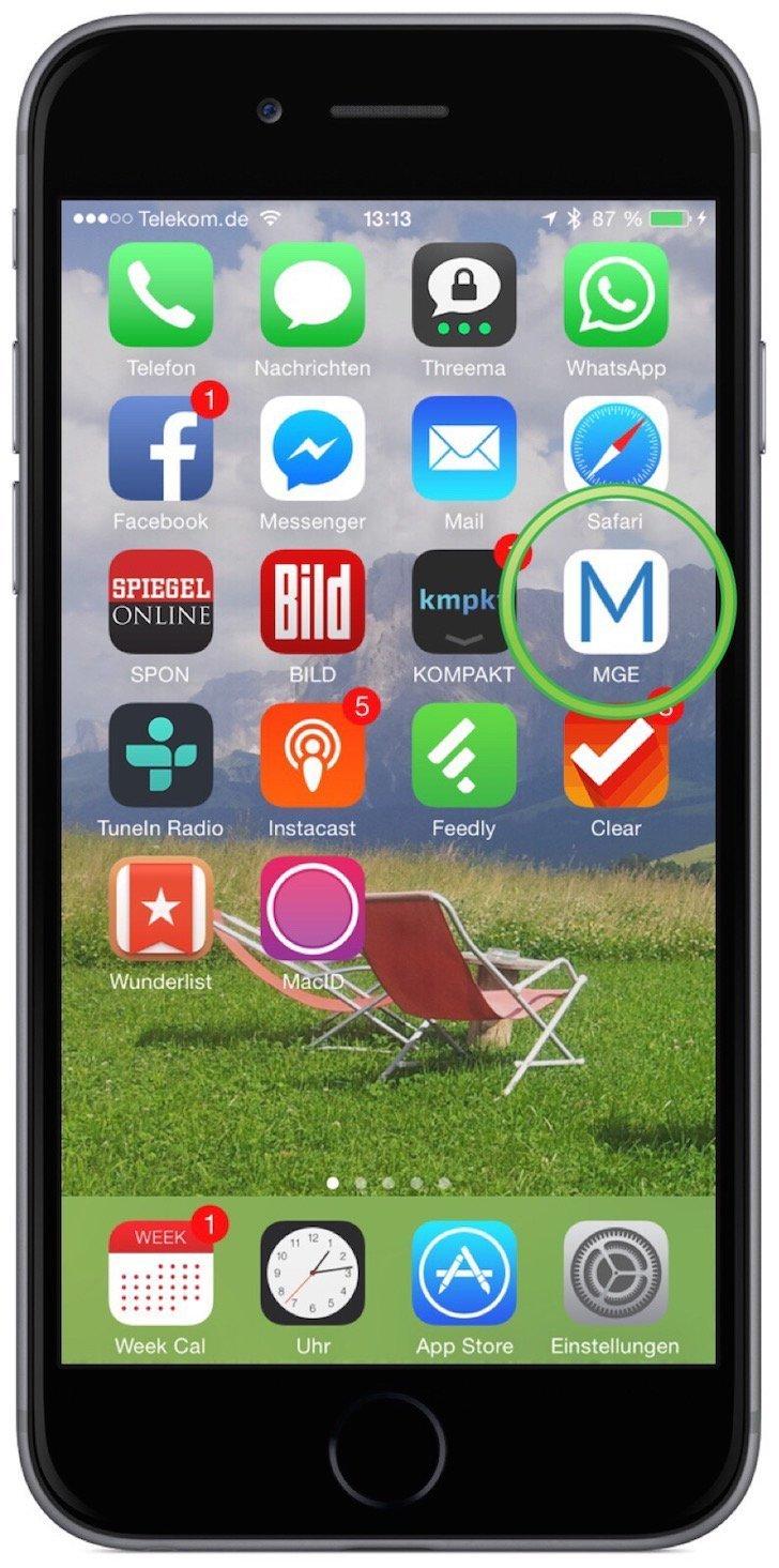 iPhone Website als Icon am Homescreen anzeigen 5