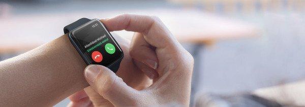 Anruf iPhone Apple Watch halten Hold Aktentasche Jacke Jacket 1