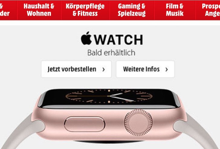 Apple Watch Saturn Gravis Media Markt Metro Online Filiale Filialsuche 1