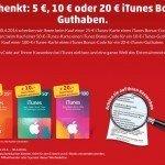 Von Montag, 25.04.2016, bis Samstag, 30.04.2016: Bei Penny erhalten Sie beim Kauf einer iTunes-Karte einen Aktivierungscode für die Freischaltung von zusätzlichem iTunes-Guthaben: