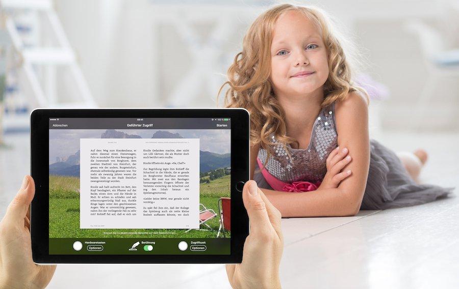 iPad iOS Kinder beschränken geführter Zugriff einschränken eine App sperren zulassen Kind Junge Mädchen freigeben 1