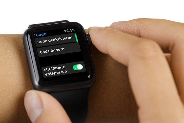 iPhone Apple Watch PIN Code ändern Sicherheit sichern 2