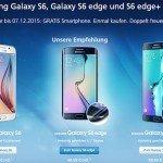 O2 legt beim Kauf eines Galaxy S6: S6 edge: S6 edge+ ein weiteres Smartphone obendrauf
