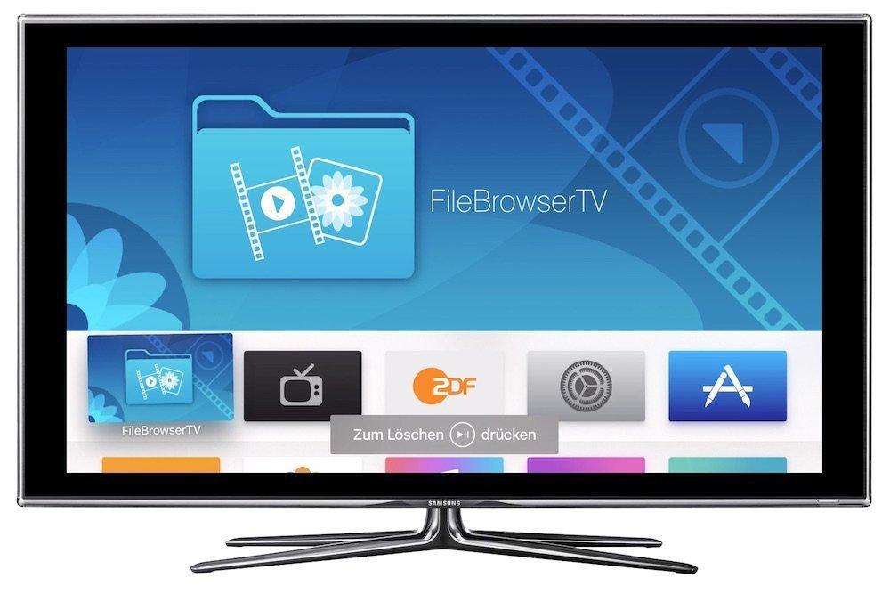 Apple TV 4 App löschen deinstallieren entfernen 1
