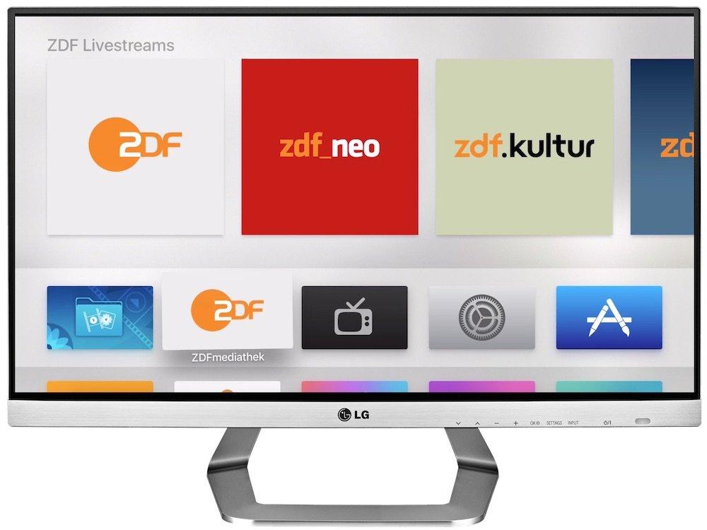 Apple TV 4 Generation App verschieben neu sortieren 2_lg_tm2792_smart_tv_front