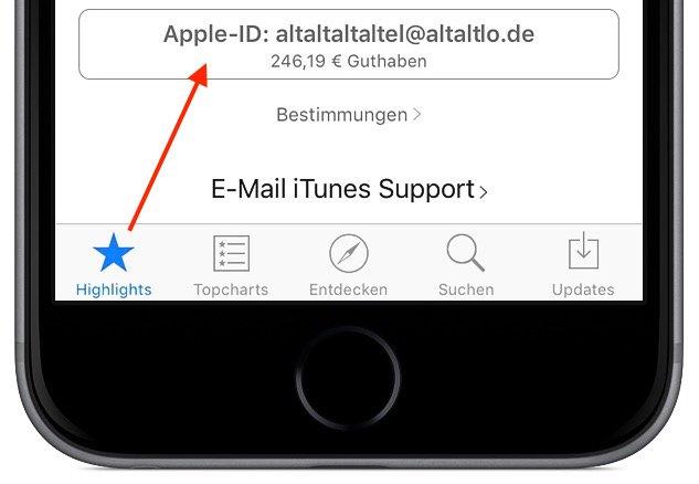 In App-Kauf bei iTunes Abo kündigen 2