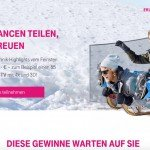 Telekom-Gewinnspiel Technik-Highlights zu gewinnen