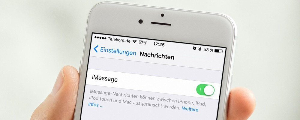 iPhone iMessage abmelden Problem SMS-Empfang 4