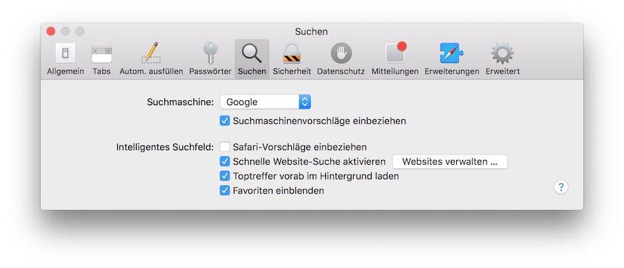 Safari Mac Probleme URL Eingabe Absturz Maus markieren 2