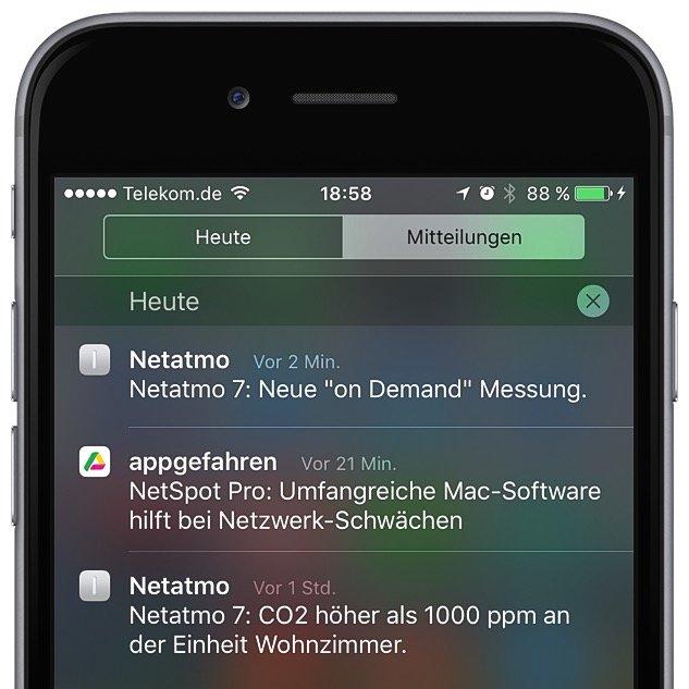 Mitteilungszentrale iPhone aufräumen Tipps Tricks 5