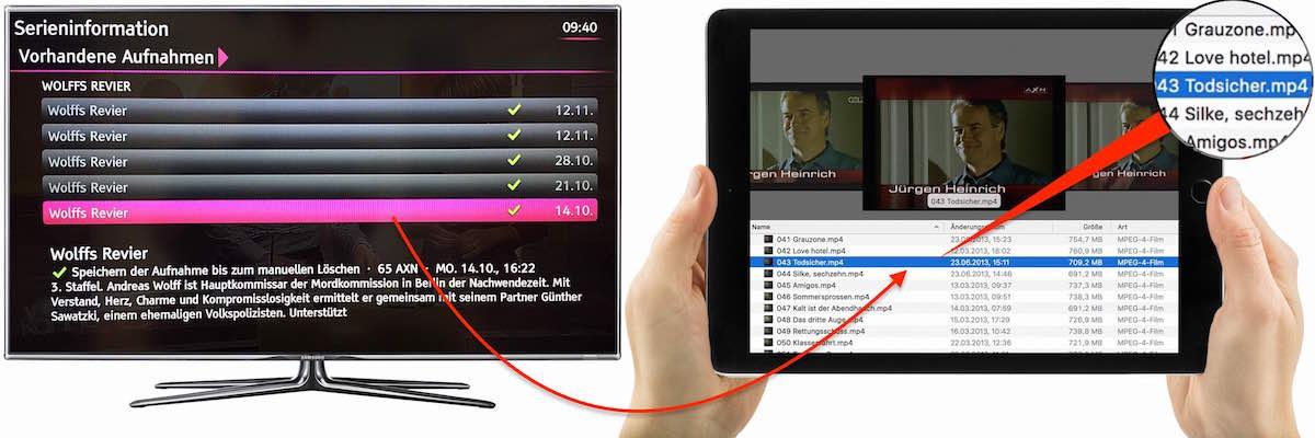 film kopieren media receiver mr 300 303 bb mobil ganz. Black Bedroom Furniture Sets. Home Design Ideas