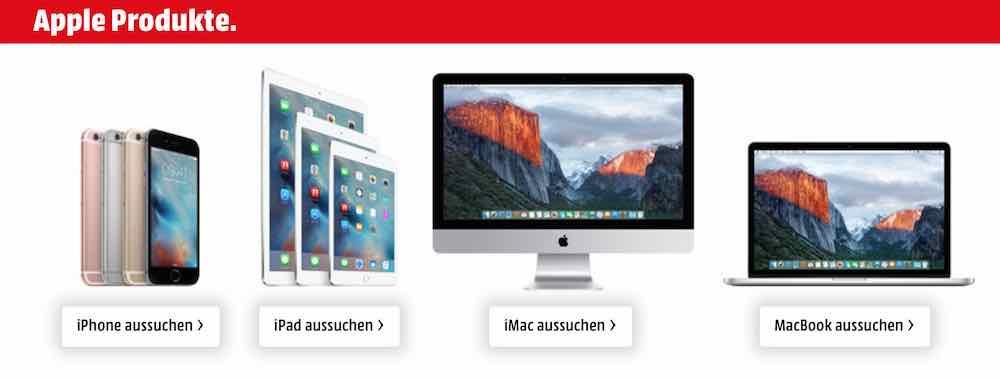 media markt bis zu 200 euro rabatt auf apple produkte 1 mobil ganz. Black Bedroom Furniture Sets. Home Design Ideas
