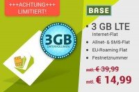 Base Blue All-in L 14,99 EUR statt 39,99 EUR