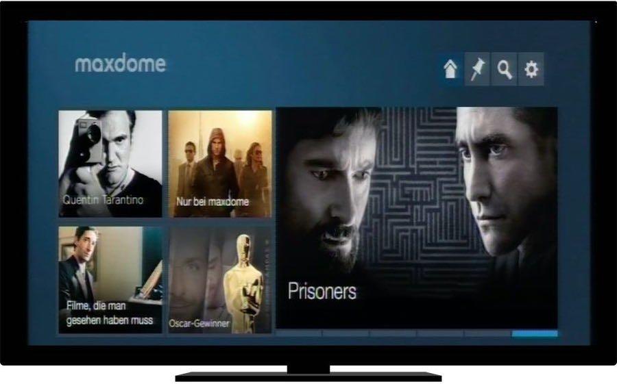 Selbstverständlich können Sie Maxdome auch am Fernseher sehen. Dazu genügt ein Telekom Entertain-Paket, oder ein Smart-TV, oder eine Spielkonsole, oder ein Google Chromecast, oder eine Apple TV-Box oder oder oder ... Sie sehen:
