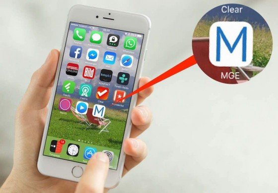 """Tippen Sie auf """"Hinzufügen"""", um den Vorgang abzuschließen. Dadurch wird auf dem iPhone-Homescreen ein neues Symbol eingefügt. Ein Tipp darauf genügt, und die damit verbundene Internet-Seite wird in Safari gestartet"""
