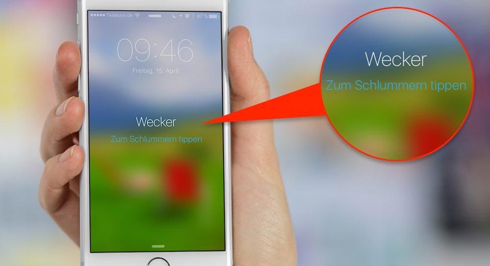 """entgegen den Behauptungen von Apple selbst (""""Mit """"Nicht stören"""" können Sie Anrufe, Wecker und Benachrichtigungen stummschalten"""", hier geht's zum Apple Support-Beitrag) funktioniert der Wecker am iPhone auch während des """"Nicht Stören-Modus"""" tadellos"""