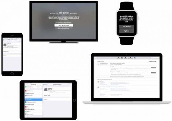 Apple hat heute vier Updates veröffentlicht ... und zwar auf iOS 9.3.2 (iPhone und iPad), aus OS X 10.11.5 (Mac-Computer), auf watchOS 2.2.1 (für die Apple Watch) und auf tvOS 9.2.1 (für Apple TV). Im Wesentlichen handelt es sich um Fehlerkorrekturen und Stablitätsverbesserungen.