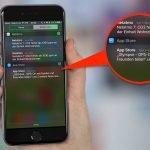 ... dann werden Sie in der Mitteilungszentrale informiert, wenn Ihr iPhone automatisch ein Update installiert hat: