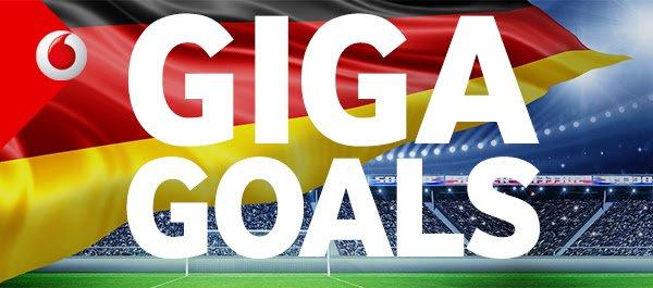 Vodafone Giga-Goals zur Fußball-EM 2016: 12 Monate lang 10 EUR weniger bezahlen = 240 EUR Ersparnis!