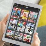 """""""Readly"""" ist eine Zeitschriften-Flatrate. Im """"Regal"""" stehen mehr als 1.600 Magazine. Testen Sie Readly für 99 Cent im Monat auf Smartphone, Tablet oder PC."""