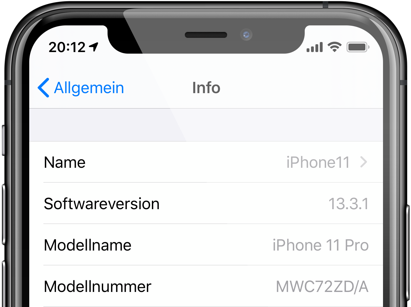 iphone-name-aendern-einstellungen