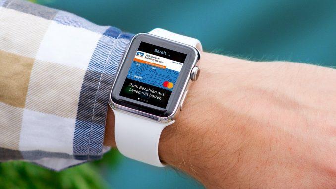 Auf der Apple Watch: Virtuelle Mastercard Debitkarte von Volksbanken und Raiffeisenbanken für Apple Pay